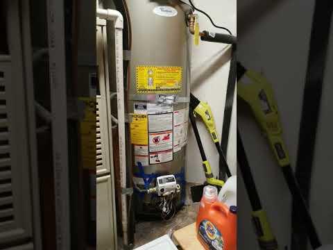 Whirlpool and honeywell's water heater Error 10 clean burner screen