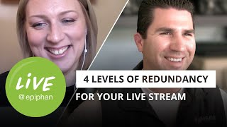 Four levels of redundancy for your live stream