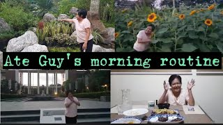 ATE GUY's Morning Routine 🌅🌻