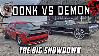 DONKMASTER VS DEMONOLOGY :Z06 D๐nk VS Dodge Demon SRT - The Big Showdown
