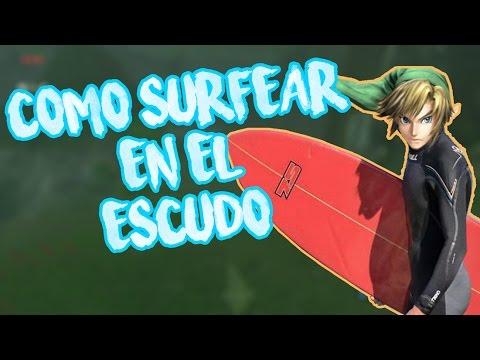 Como surfear con el escudo - The legend of zelda breath of the wild