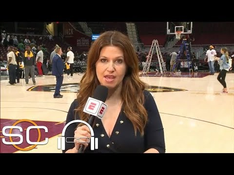 Rachel Nichols describes mood inside Cavs and Celtics locker rooms after Game 4 | SC with SVP | ESPN