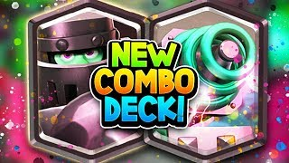 Most BIZARRE DECK to get #1 Global in the HISTORY of Clash Royale!