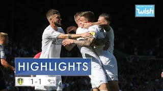 Highlights | Leeds United 1-1 Derby County | EFL Championship