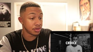 Perfil #4 - Choice - Super Hip Hop (Prod. Legua$) Reaction Video