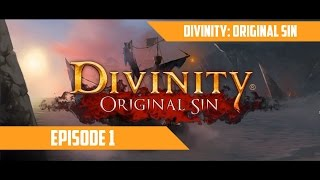 Divinity Original Sin #1 - The Derpy Beginnings