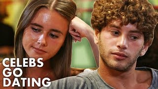 First Date Gone AWKWARD, Love Island's Eyal Booker Struggles to Connect | Celebs Go Dating