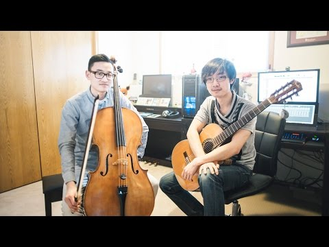 Studio Ghibli Medley (Cello & Classical Guitar) - Nicholas Yee & Shawn Gan