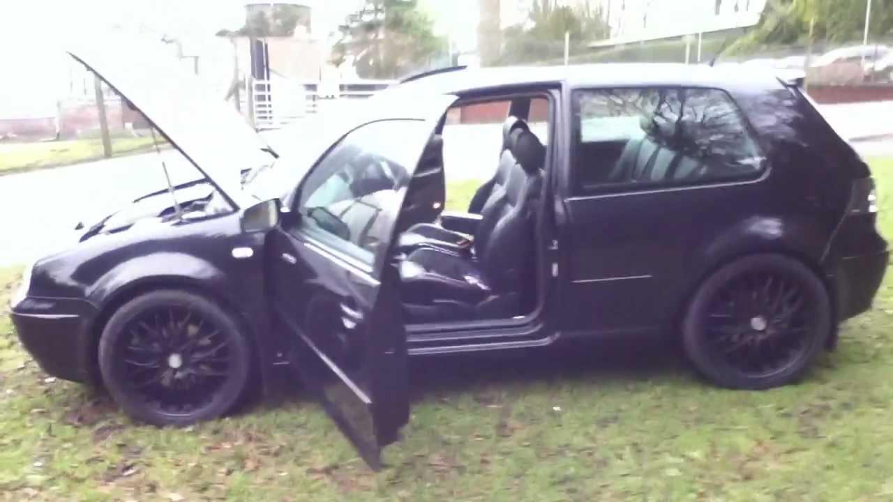 VW Golf MK4 v6 4motion 2002 For Sale - YouTube