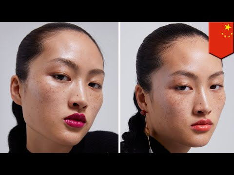 Freckles on Zara ad riles up sensitive Chinese netizens  - TomoNews