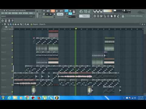 how to break down fl studio notes