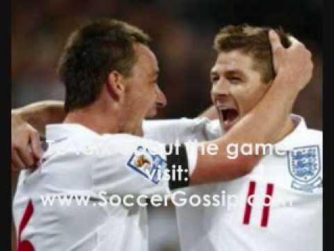 England vs Ukraine 2-1 01-04-2009