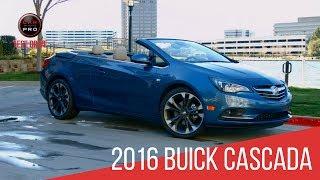 2016 Buick Cascada Test Drive