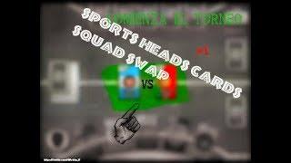 EL JUEGO con el NOMBRE MÁS LARGO del MUNDO | Sports Heads Cards Squad Swap #1