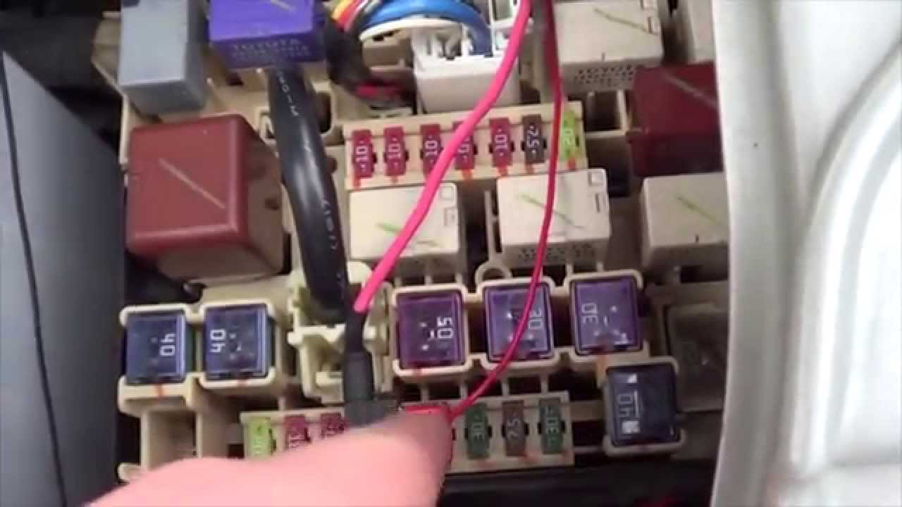 locating fuse boxes on a scion tc youtube ac compressor relay wiring diagram #5