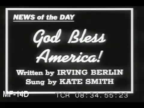 Kate Smith Sings God Bless America, 1930s