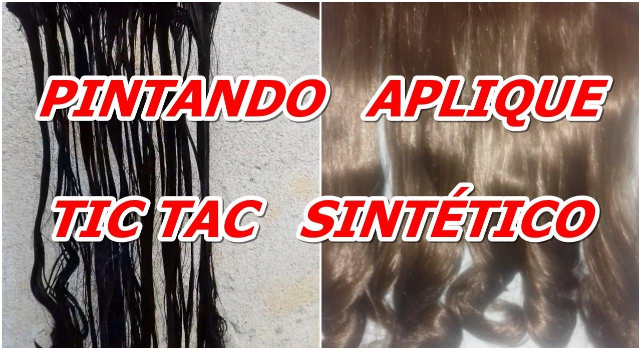 Pintando Aplique Tic Tac Sintetico Youtube