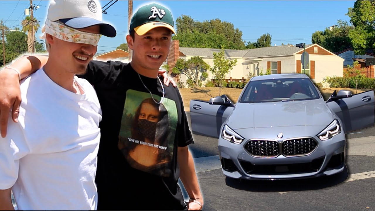 SURPRISING MY BEST FRIEND WITH A NEW BMW | Oscar Guerra
