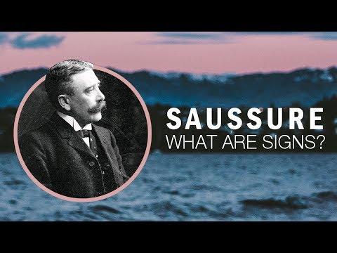 Ferdinand de Saussure: Semiotics and Language