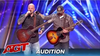 Broken Roots: Two Police Detectives BROMANCE and Musical Talent Moves The Judges