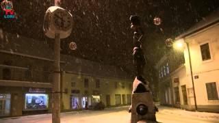 Marta i snijeg u Gospiću!