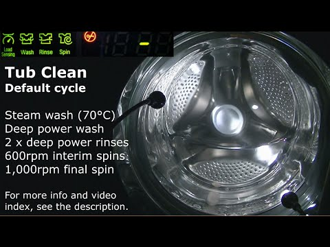 Lg Tub Clean Cycle Dean S Washer Videos