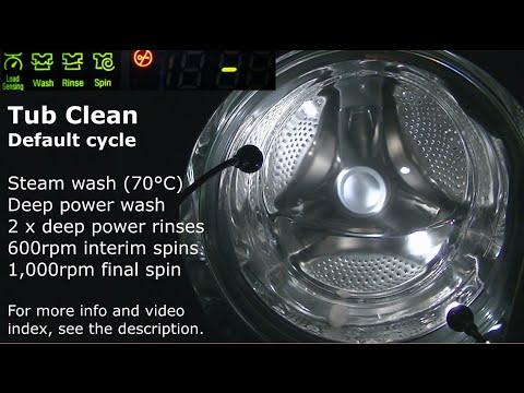LG Tub Clean Cycle