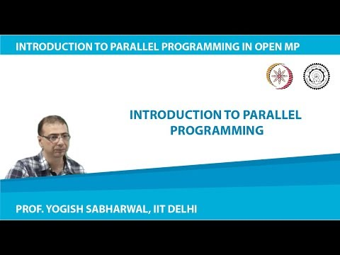 Mod1Lec1 - Introduction to Parallel Computing