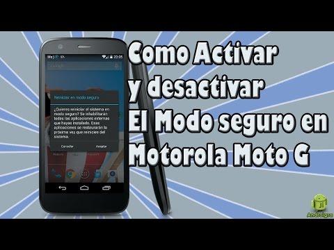 Como activar y desactivar el Modo seguro en android