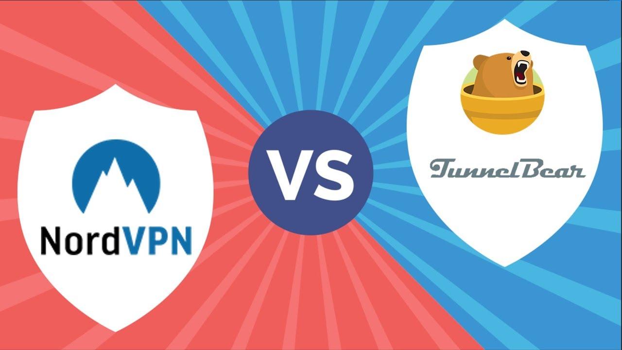 VPN Comparison - NordVPN vs  Tunnelbear: Which one is better?