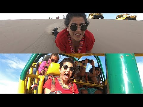 This is the biggest scare I ever had in the desert  Peru/ Paracas Huacachina/ Sand boarding bugis. thumbnail