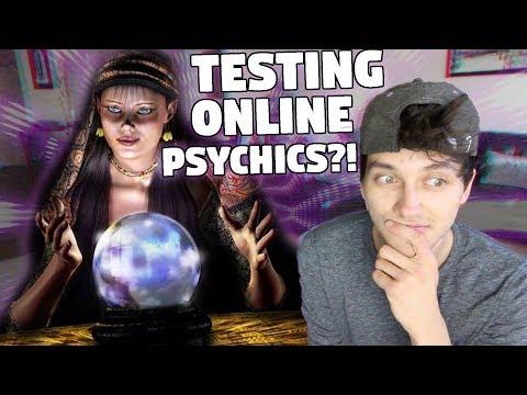 TESTING ONLINE PSYCHICS!
