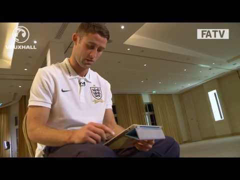 Gary Cahill talks through highlights of England's 4-1 win vs Montenegro, World Cup qualifier
