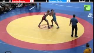 195 Landon Brown vs. Donovan Doyle