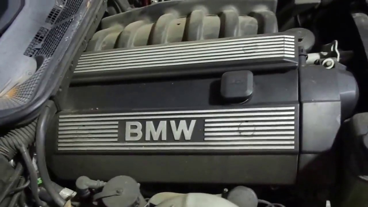wrecked 1998 bmw 328is e36 2 8l engine running [ 1280 x 720 Pixel ]