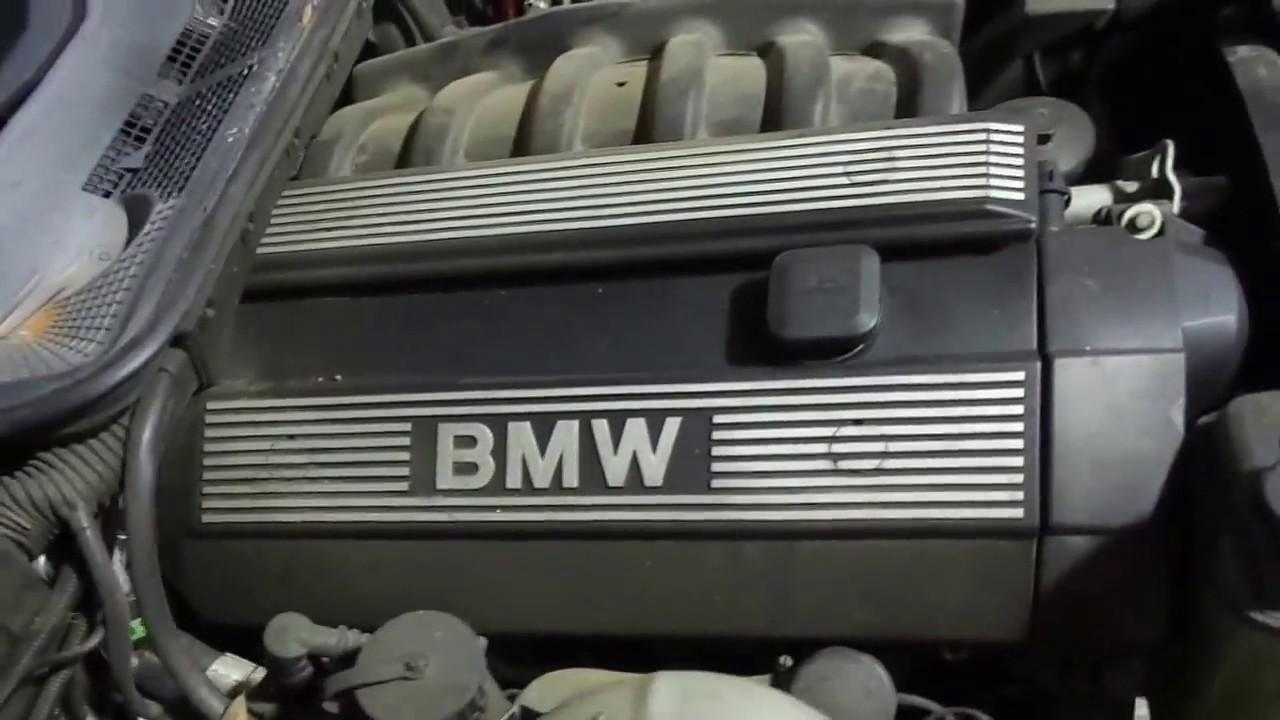 medium resolution of wrecked 1998 bmw 328is e36 2 8l engine running