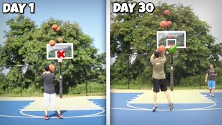 I Shot 100 Three Pointers Every Day for 30 Days!! This is What Happened...