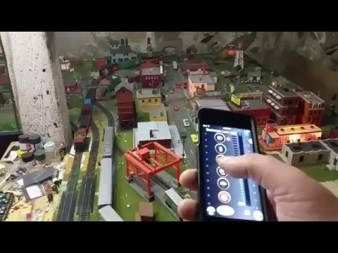 Bluetooth Model Railroading!