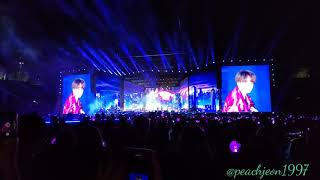 [FANCAM] 20190504  BTS Speak Yourself Day-1 at Rosebowl Trivia 轉 : Seesaw