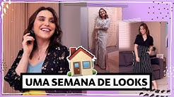 LOOKS EM CASA! Conforto + estilo | Lu Ferreira | Chata de Galocha