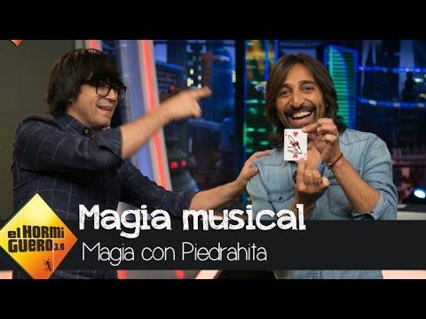 Luis Piedrahita deja sin palabras a Antonio Carmona con su truco musical - El Hormiguero 3.0