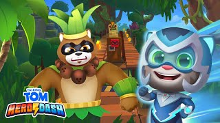 🌴🦸 Jungle Missions ALERT! Talking Tom Hero Dash (Gameplay)
