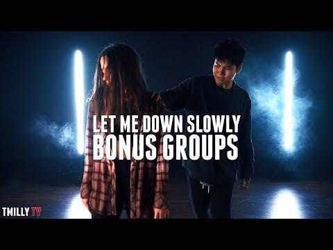 Alec Benjamin - Let Me Down Slowly - BONUS GROUPS - Choreography Erica Klein ft Sean & Kaycee
