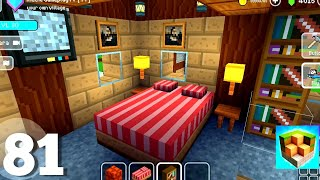 Large House Room Decor 🏠| Block Craft: 3D Building Simulator Games For Free | Gameplay 81 screenshot 5