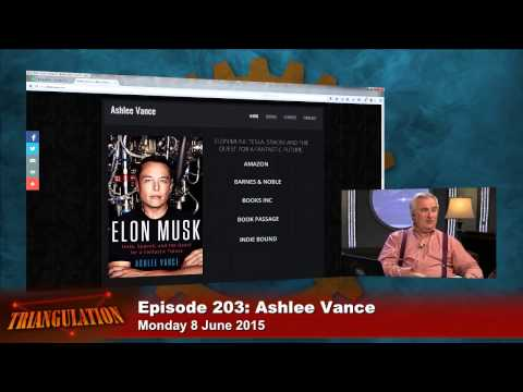 Triangulation 203: Ashlee Vance - YouTube