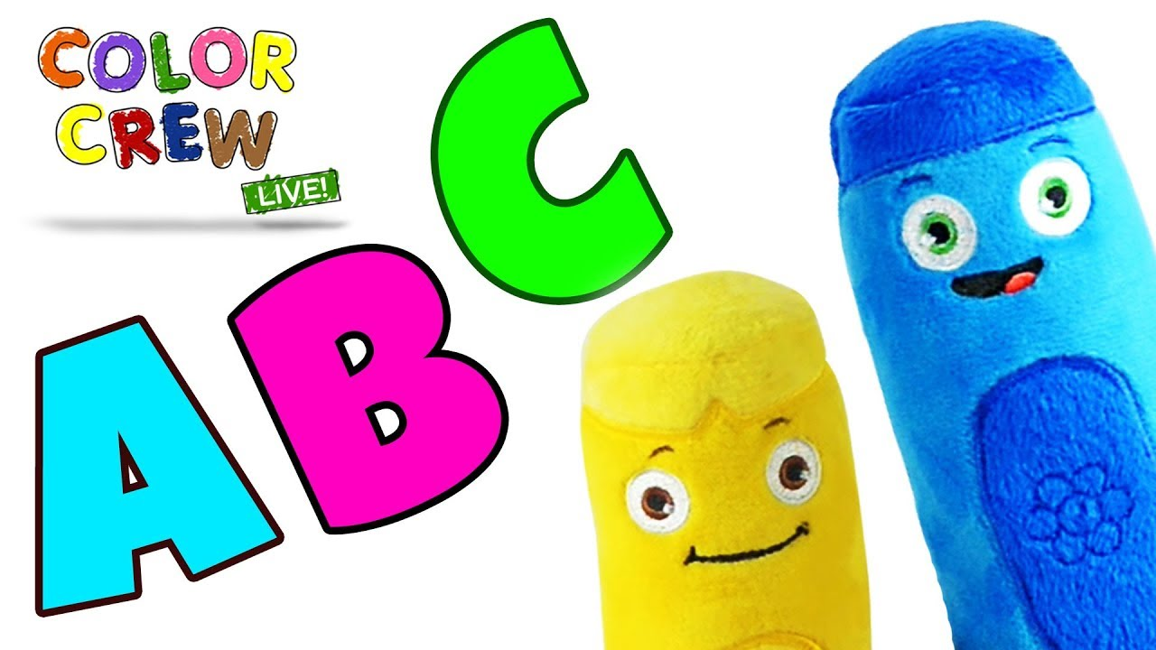 Learn Abc With Color Crew Color Crew Live Learn Colors