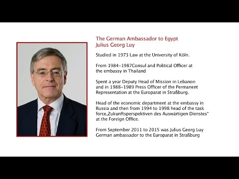 The Ambassador of the Federal Republic of Germany to Egypt
