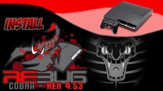 PlayStation 3: Unofficial REBUG REX/COBRA 4.53.3U Installation【1080p HD】