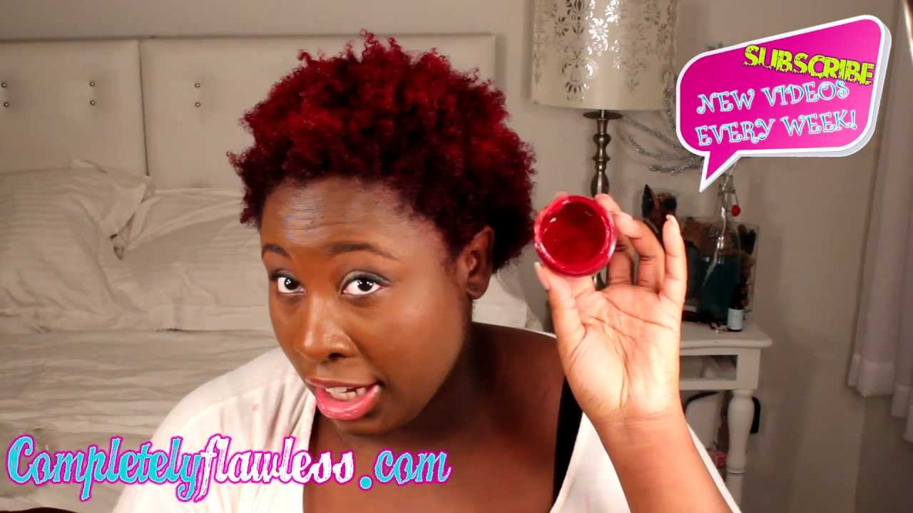 Manic Panic Application On Natural Hair Youtube