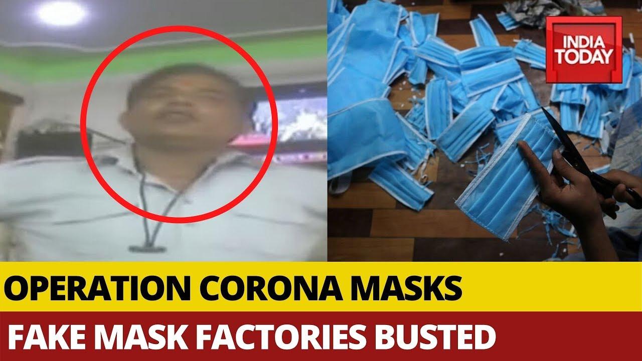 Operation Corona Masks: Factories Making Fake Masks Busted In Delhi | India Today Exclusive